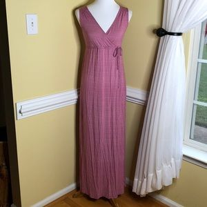 Old Navy Long Maxi Maternity Dress XS